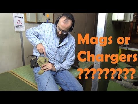 Fastest way to reload a Lee-Enfield: one charger clip, two chargers or a new magazine?