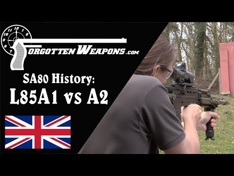 SA80 History: L85 A1 vs A2 (and the coming A3)
