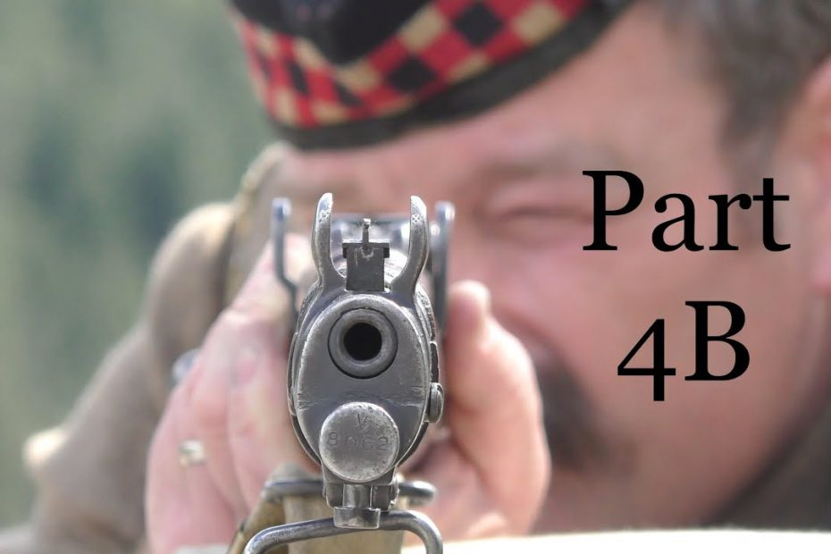"""The No 1, Mk III* Short, Magazine, Lee Enfield (SMLE):  Musketry of 1914 – PART FOUR """"B"""""""