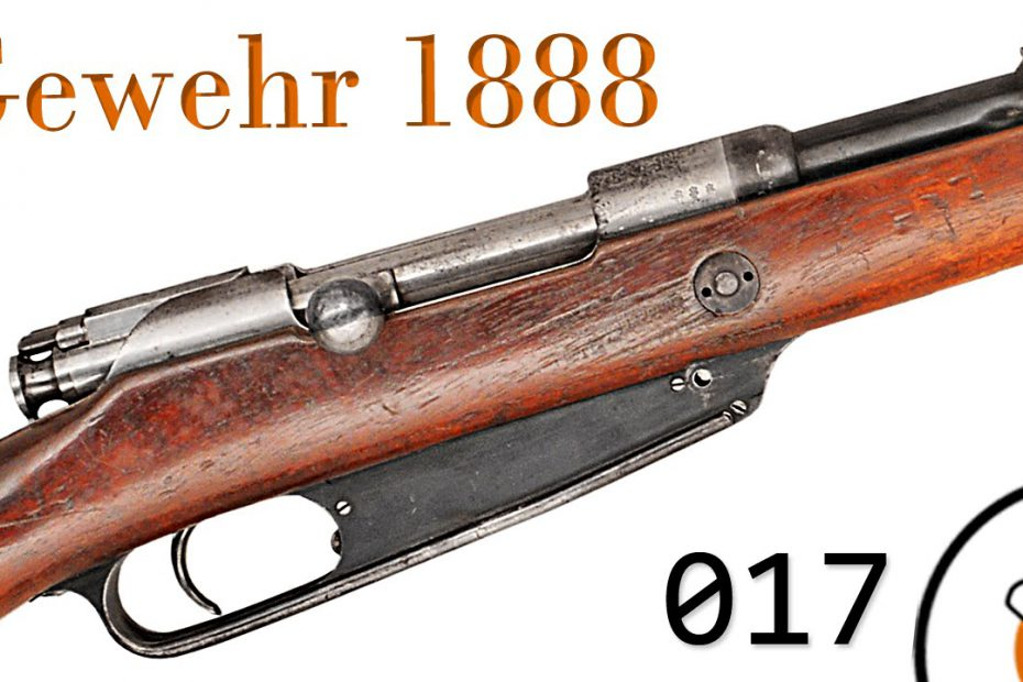 "Small Arms of WWI Primer 017: German Gewehr 1888 ""Commission Rifle"""