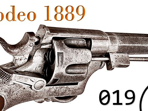 Small Arms of WWI Primer 019: Italian Revolver Bodeo 1889