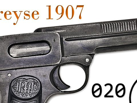 Small Arms of WWI Primer 020: German Dreyse 1907 Pistol