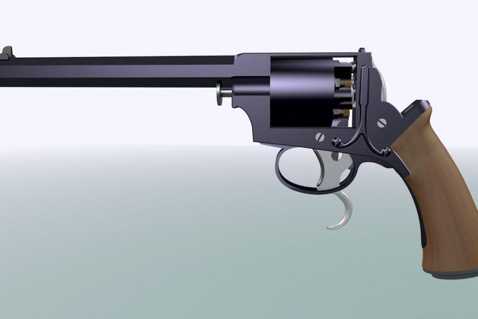 Tranter 1853 double-trigger revolver