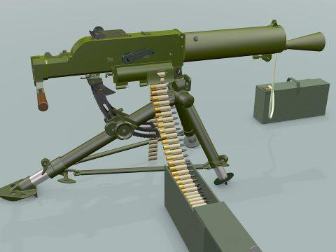 Schwarzlose machine gun 1912
