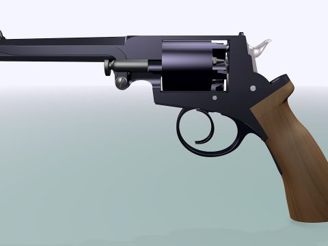 Beaumont Adams Revolver 1857