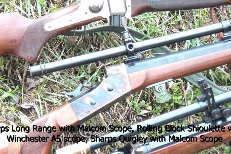 Shooting Pedersoli 45-70 Sharps and Rolling Block rifles