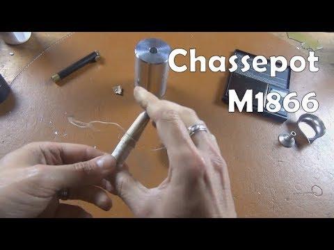 Recreating original Chassepot M1866 needlefire paper cartridges