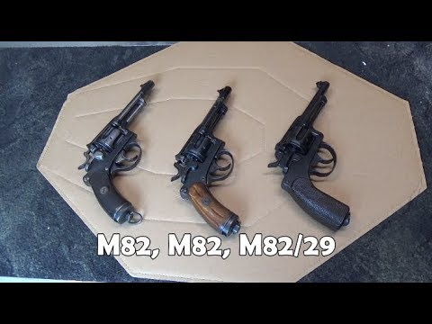 Swiss M82 vs M82/29 Revolvers: Did Furrer Make An Improvement?