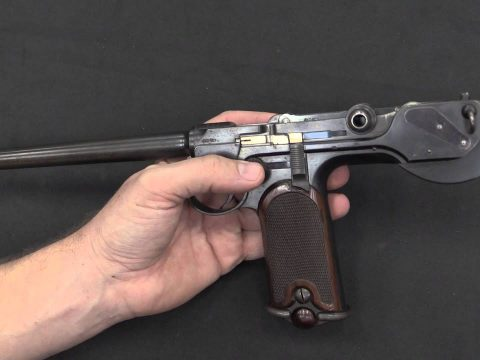 C93 Borchardt: the First Successful Self-Loading Pistol