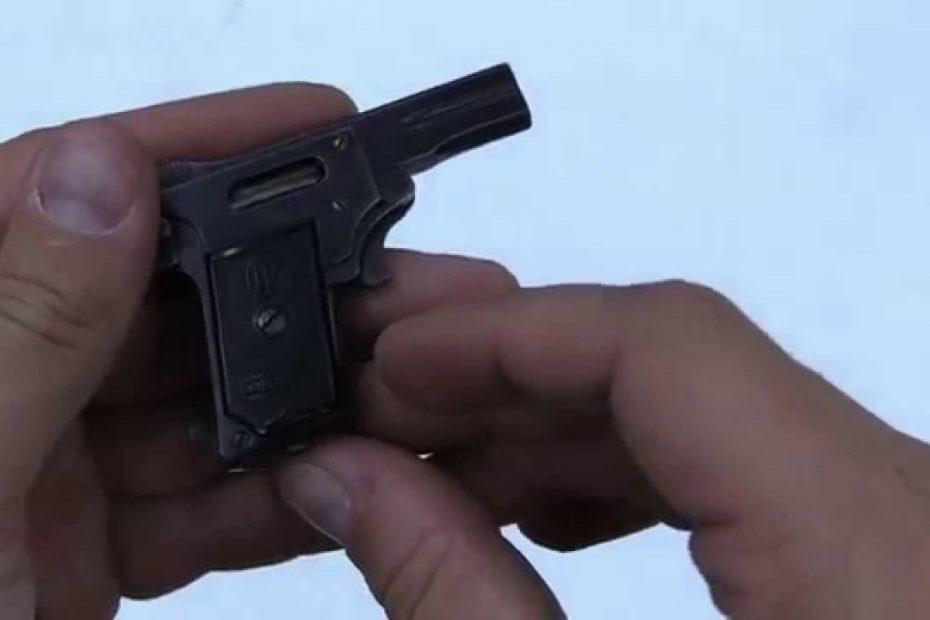 World's Smallest Pistol – 2.7mm Kolibri