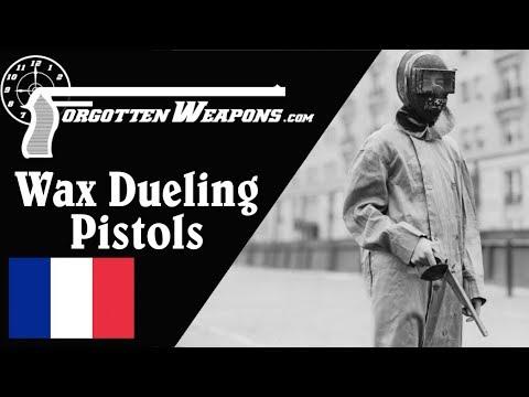 Lepage Wax-Bullet Dueling Pistols