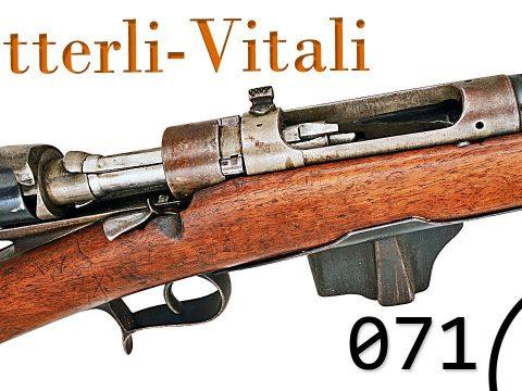Small Arms of WWI Primer 071: Italian Vetterli-Vitali 1870/87