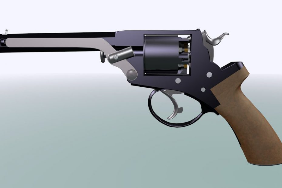 Tranter 1858 model 4 double action revolver