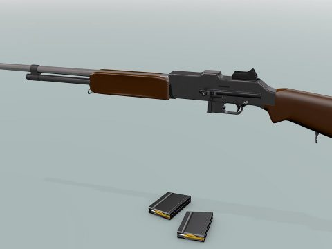 Browning Automatic Rifle (BAR) Model 1918