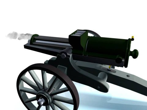Gatling 1862