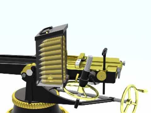 Nordenfelt 2-barrel Anti-Torpedo-Boat gun