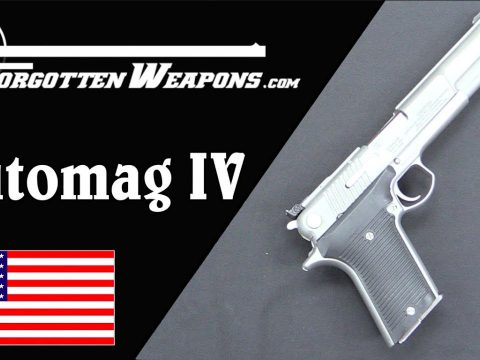 AMT Automag IV – A Browning in .45 Winchester Magnum