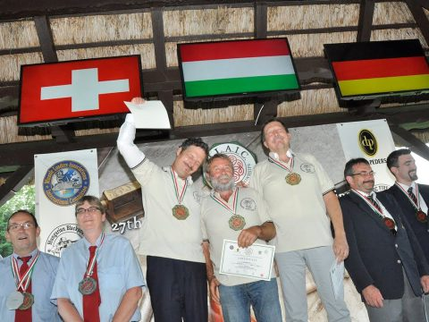 Winning the World Championships in muzzle loading military rifle team