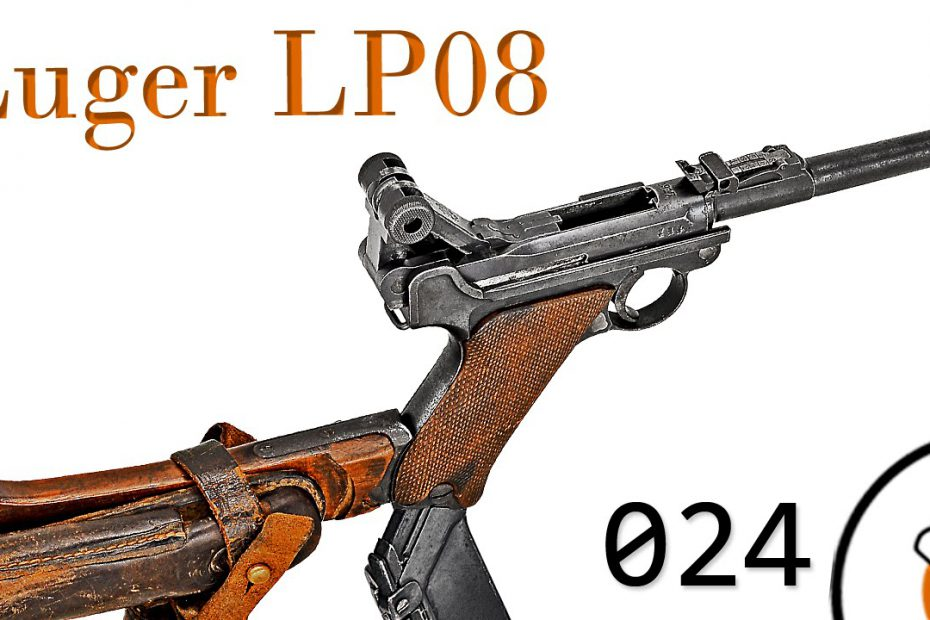 """Small Arms of WWI Primer 024: German Lange Pistole 08 """"Luger"""""""