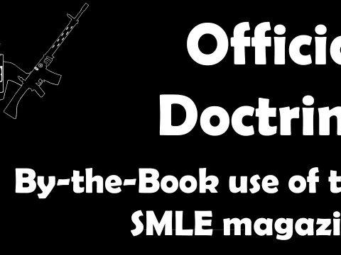 Official WW1-era British magazine doctrine