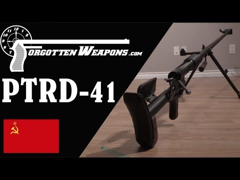 PTRD 41: The Simple Soviet Antitank Rifle of WWII
