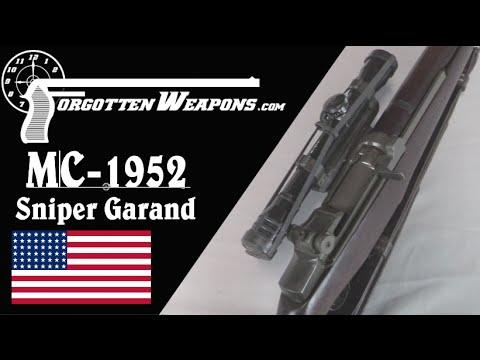 Marine Corps MC-1952 Sniper Garand