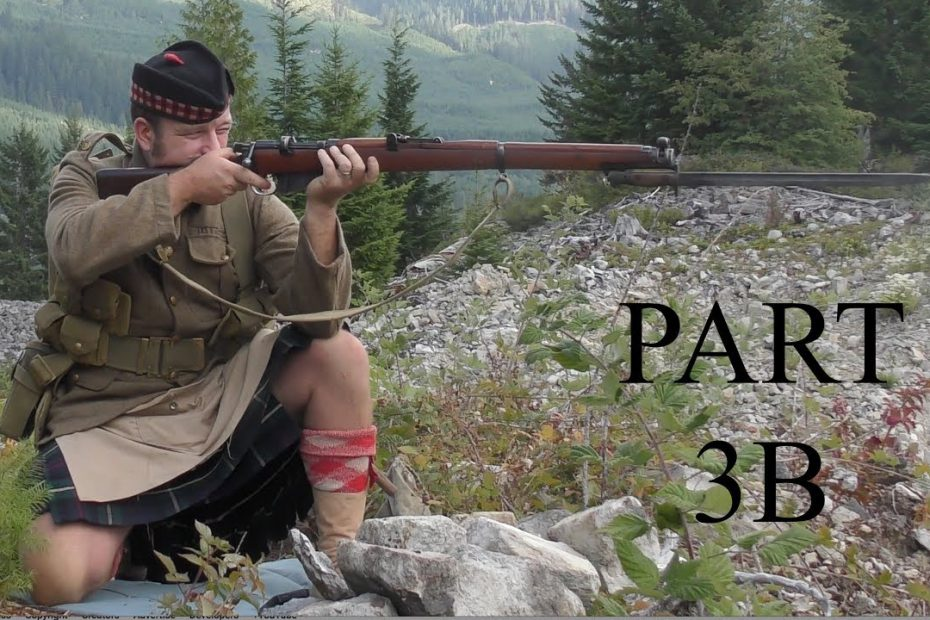 """The No1, Mk III*, Short, Magazine, Lee Enfield (SMLE):  Musketry of 1914 – PART THREE """"B""""-"""