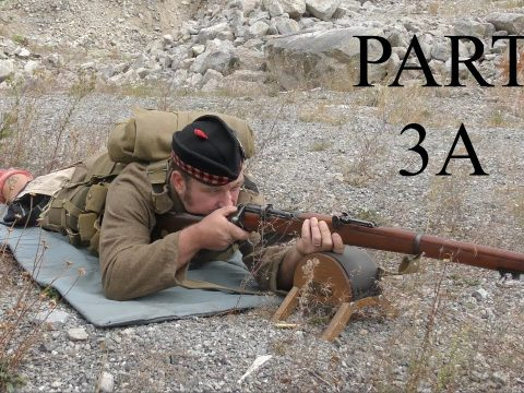 """The No1, Mk III*, Short, Magazine, Lee Enfield (SMLE):  Musketry of 1914 -PART THREE """"A"""""""