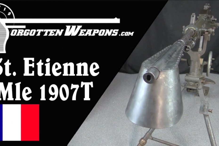 The St Etienne Mle 1907: France's Domestic Heavy Machine Gun