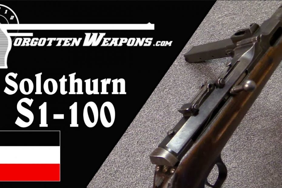 Japanese Contract Steyr-Solothurn S1-100 (aka MP34)