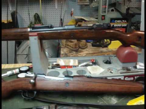 """Review of the Mauser series of Rifles Part 1"" Iraqveteran8888"