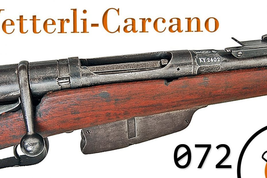 Small Arms of WWI Primer 072: Italian Vetterli 1870/87/15