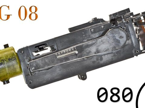 Small Arms of WWI Primer 080: German MG08