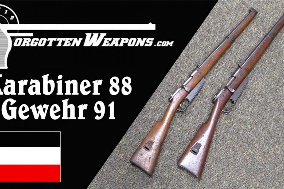 Germany's First Smokeless Carbines: the Kar 88 and Gewehr 91