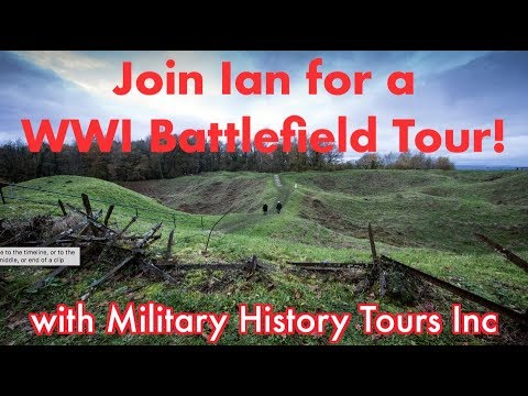 """Join me for the """"Doughboys & Devil Dogs in France"""" Tour, May 2018!"""