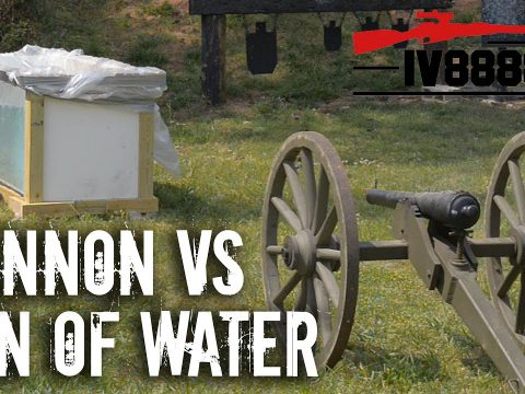 Cannon VS 1 Ton of Water