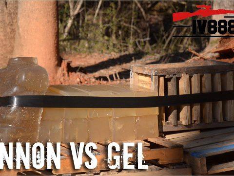 Cannon VS Ballistics Gel