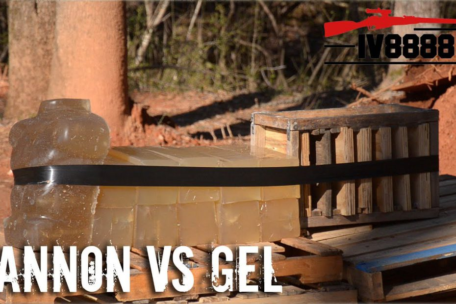 Cannon VS Ballistics Gel