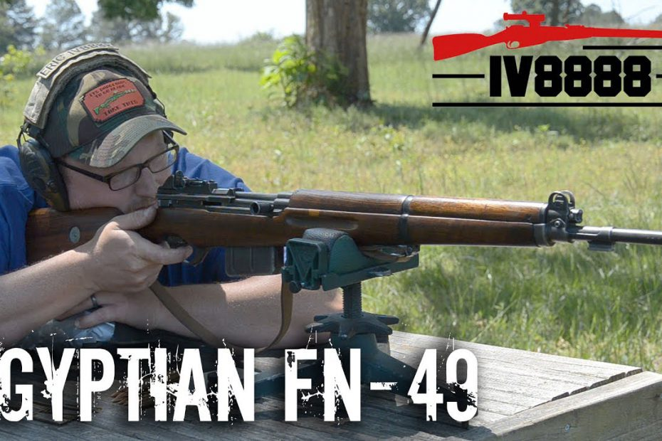 Egyptian FN-49 8x57mm