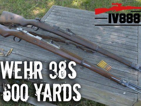 Gewehr 98s at 600 yards
