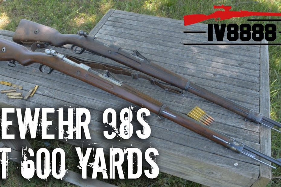 Gewehr 98s at 600 yards