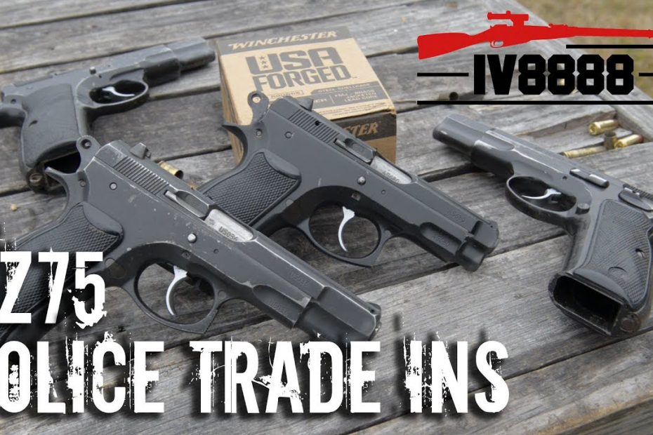 CZ75 Police Trade Ins