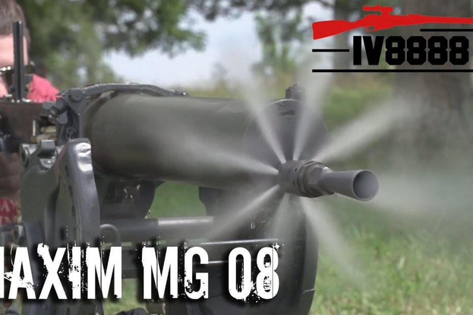 Maxim MG 08 with C&Rsenal!