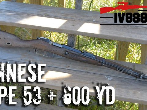 Chinese Type 53 Mosin at 600 yards