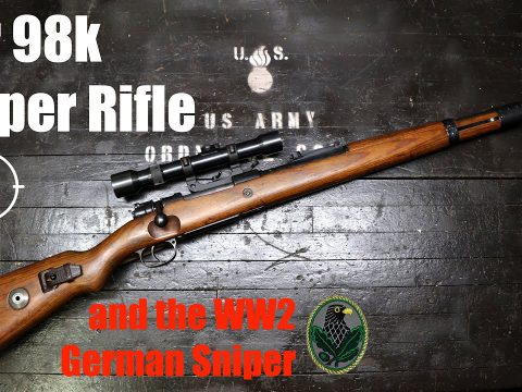 The Kar98k Sniper Rifle and the WW2 German Sniper (Milsurp)
