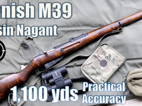 ?Finnish M39 Mosin Nagant to 1,100yds: Practical Accuracy (Milsurp)