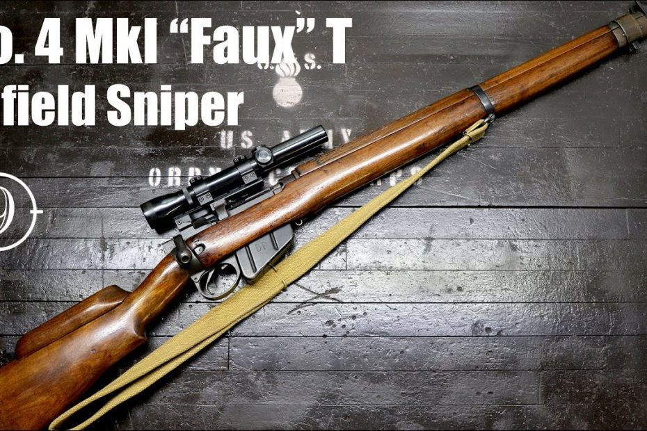 Enfield No.4 (T) Faux WW2 Sniper accuracy review – Greek HXP/ British Radway Green RG 8Z