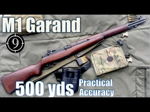 M1 Garand to 500yds: Practical Accuracy (Milsurp)