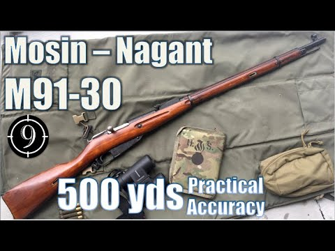 Mosin-Nagant to 500yds: Practical Accuracy (Mosin-Nagant M91/30) (Milsurp)