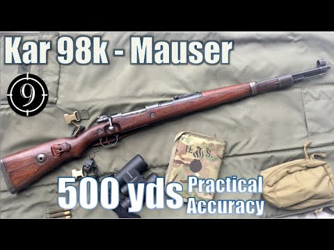 Kar98k Iron Sights to 500yds: Practical Accuracy (Milsurp)